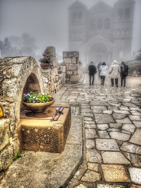 Church of the Transfiguration, Mount Tabor, Israel. The site of the Transfiguration of Jesus Christ.