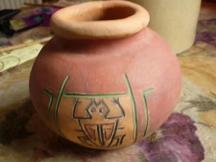 Ceramica con engobe
