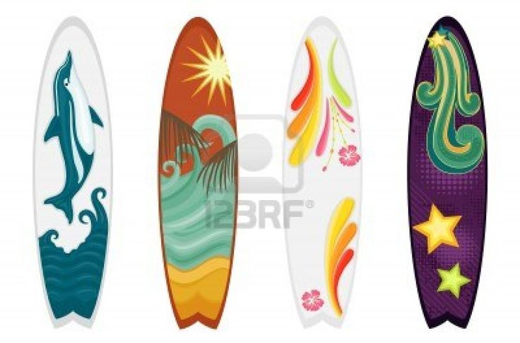 Ideas to paint my surf board.