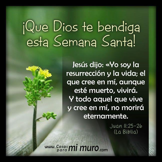 Imagen: Dios te bendiga esta semana santa