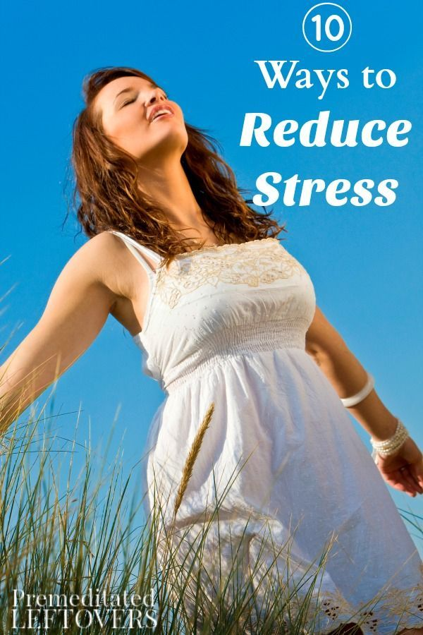 Life can be stressful, but you can reduce the stress with these tips!