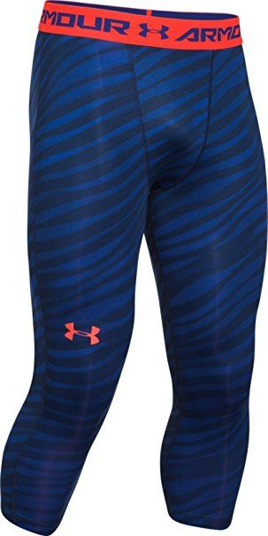 a7aa689329beb Under Armour Men's HeatGear Armour Printed ¾ Compression Leggings Review