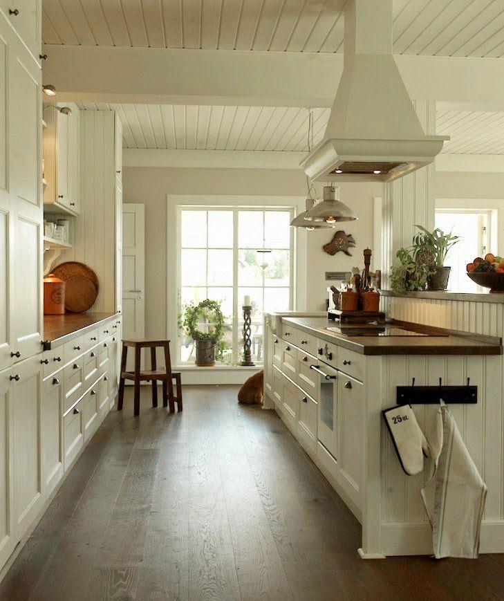 Den Vita Drömgården: Äntligen! Köket klart!
