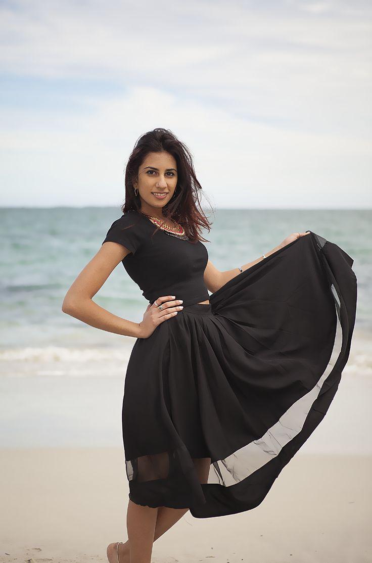 Fiesta Pleated Midi Skirt - AU$44  Shop: http://www.leftlanevintage.com/products/details/fiesta-pleated-midi-skirt