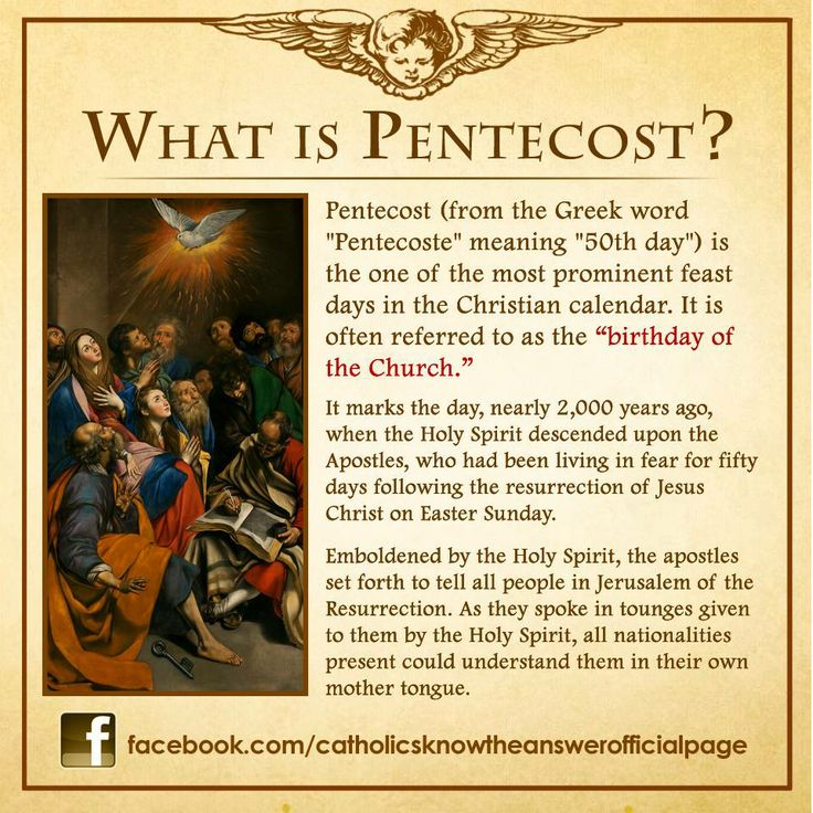 pentecost sunday 2015 homily year b