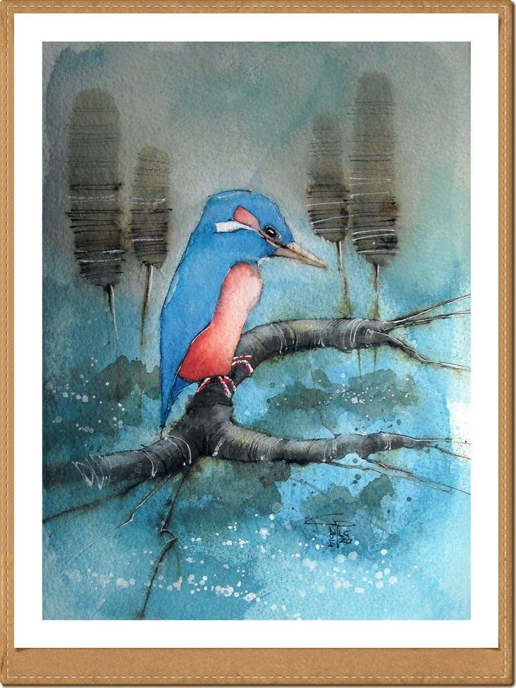 Martin - Gianluigi Punzo - Naples - Napoli - Italy - Italia - Watercolor - Acquerello - Aquarelle - Acuarela