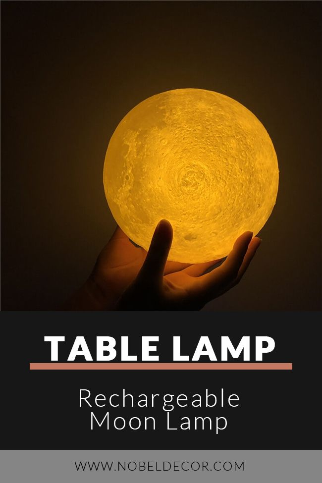 Rechargeable Moon Lamp In 2020 Creative Lamps Lamp Creative Lighting