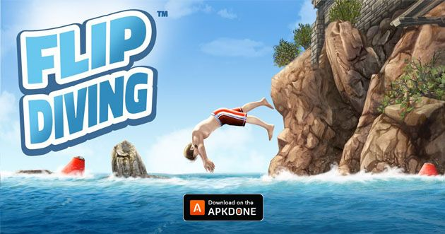 Flip Diving Mod Apk 3 0 05 Download Unlimited Money For Android Diving Latest Games The Incredibles