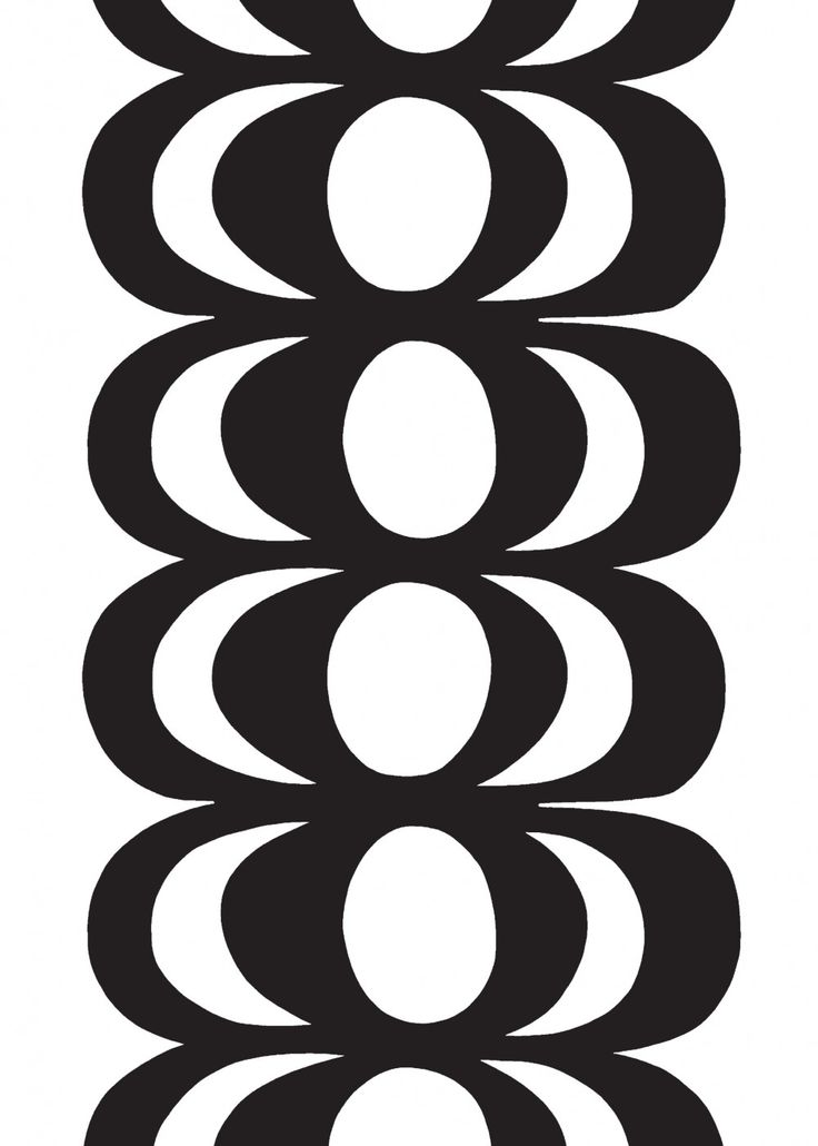 Marimekko Kaivo fabric, design by Maija Isola 1964.