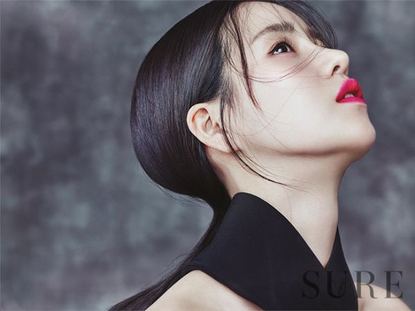 Lim Ji Yeon in Sure Korea Magainze