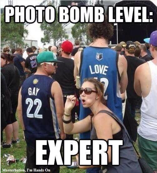 Photo-bomb level - EXPERT