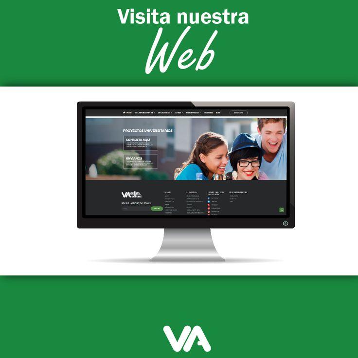 En #VallasyAvisos siempre pensamos en tu empresa, por eso hemos cambiado nuestro sitio web para tu comodidad. ¡Estamos estrenando, ingresa a www.vallasyavisos.com haz parte de nuestra transformación! #PublicidadExterior #VallasyAvisos  #LaMejorPublicidad #ImagenEmpresarialMedellin