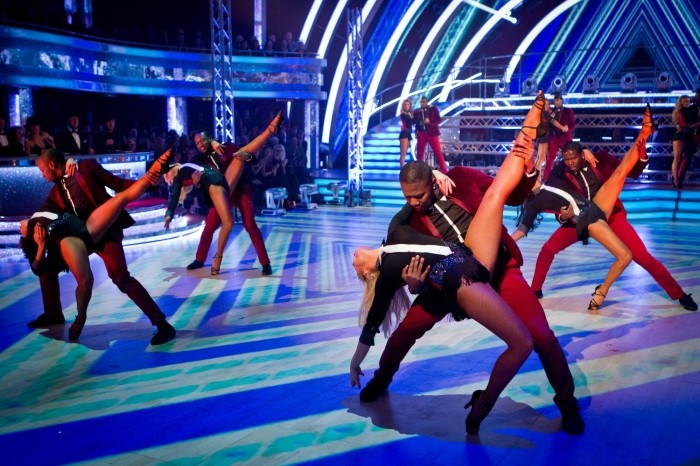 The Fantastic Female Pro-Dancers and Flawless - Strictly Come Dancing Results Show - Week 8 - Nov 2012