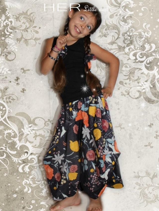 HER Little world, Patron de couture pour vêtement enfant, Sarouel Farfelu