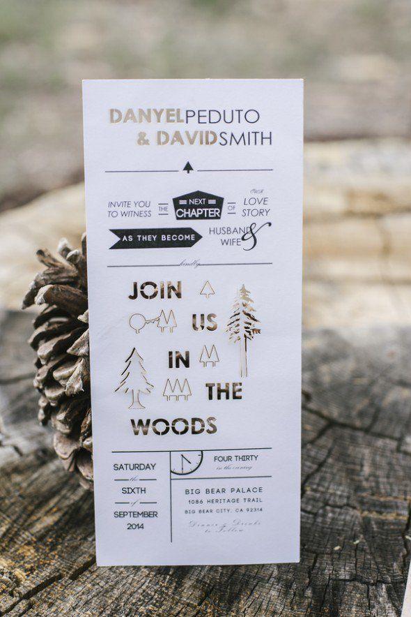 Big Bear Cabin Wedding: Danyel + David