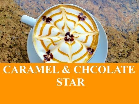 how to make a caramel latte with espresso machine