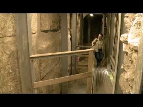 Herodian Road From Shiloah Pool to the Western Wall - YouTube