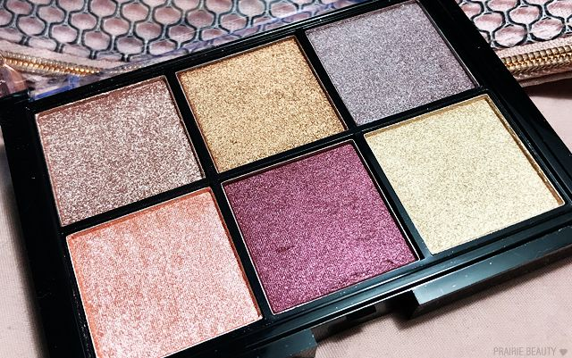 NYX Cosmic Metals Shadow Palette Review