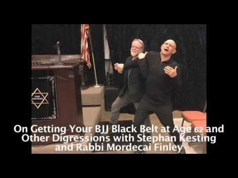 Getting Your BJJ Black Belt at Age 62 and Other Digressions with Mordecai Finley