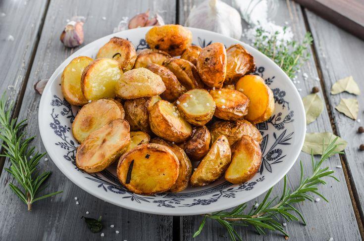 Pieczone ziemniaki z ziołami