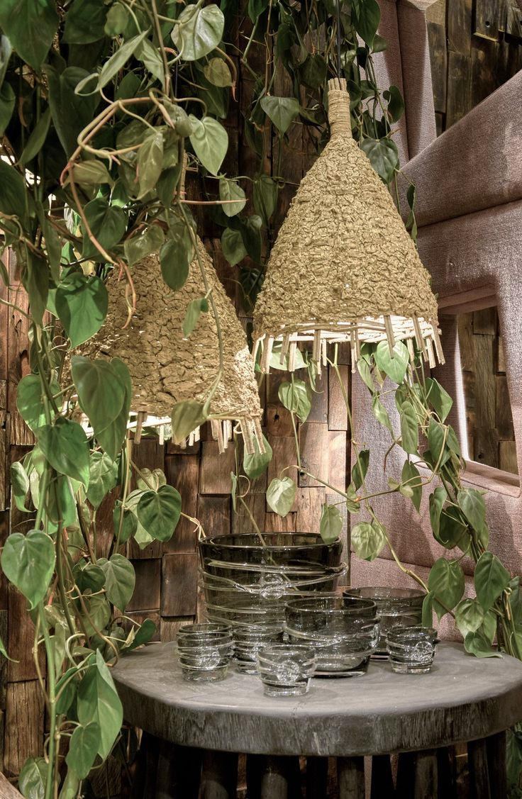 Organische hanglampen - Organic hanging lamps - Upcycled - Hand finished - #WoonTheater