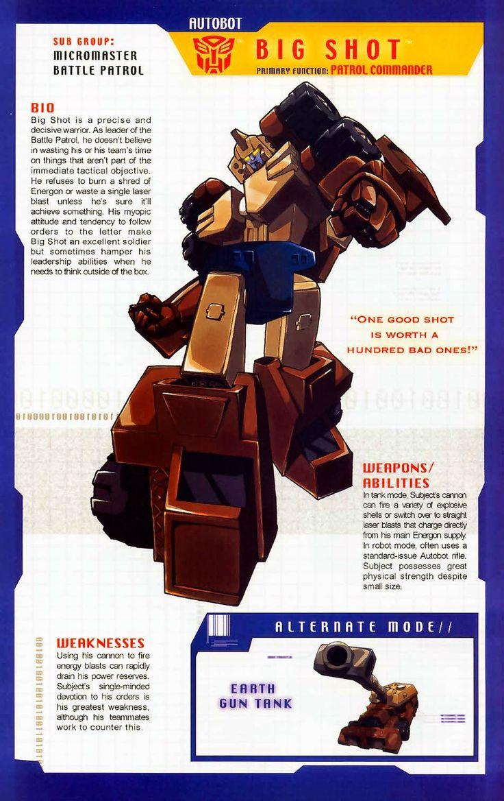 Transformer Of The Day Big Shot Transformers Autobots