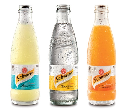 Lemon Bitter and Tangerine Schweppes: only found in Slovenia and Croatia, so far