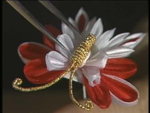 Manualidades y accesorios la hormiga. como hacer una flor en citas. video No.060 - YouTube