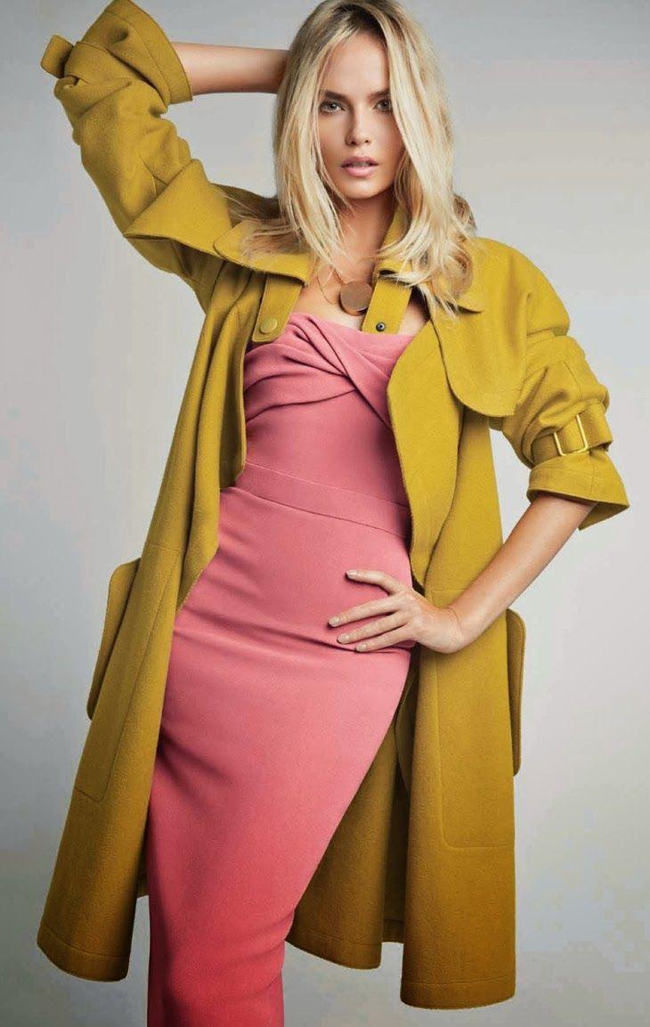 Natasha Poly for Vogue China January 2014