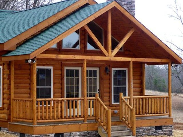 30 best country homes images on pinterest country homes for Log home decks