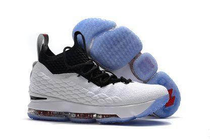 a8e6778914956 Nike LeBron 15 Graffiti White Black University Red Release On March 2-1