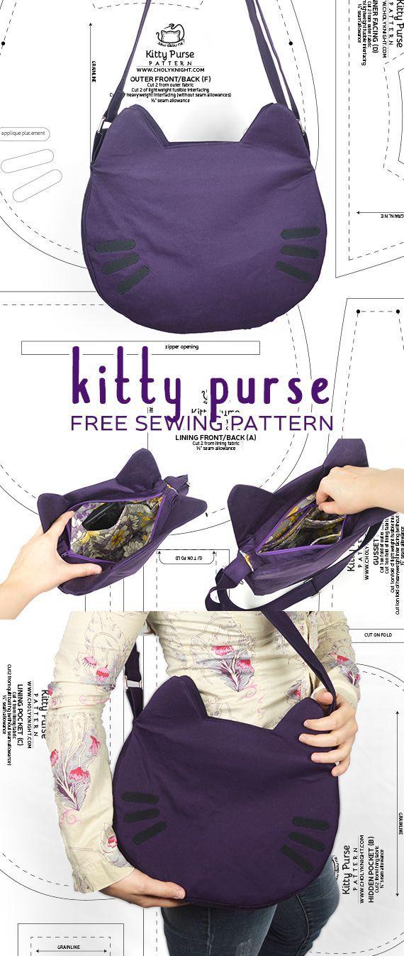 Nähanleitung – Kitty Geldbörse von SewDesuNe – Sale! Bis zu 75% RABATT! Shoppen bei Styliz