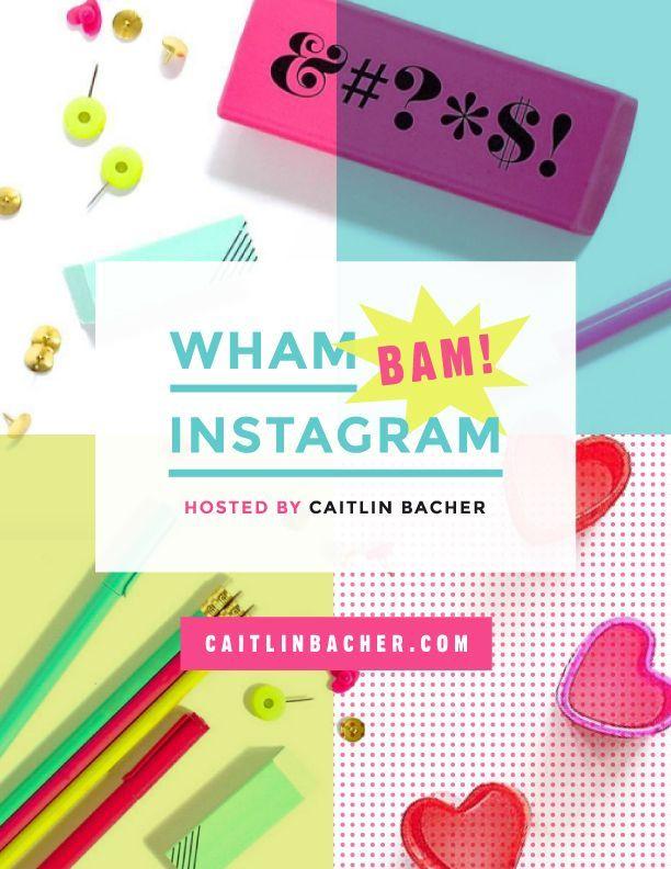 Image result for Caitlin Bacher – Wham Bam Instagram