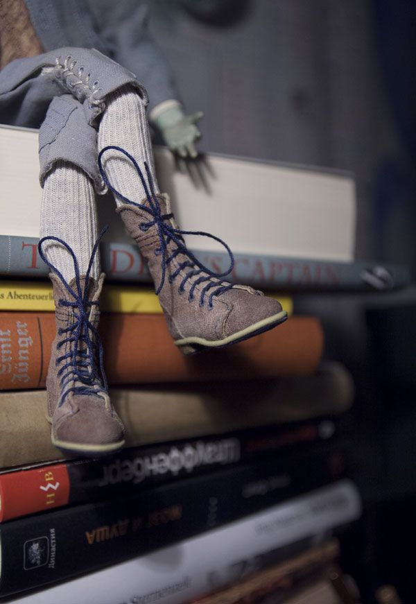 Ботинки для куклы. Автор - Шабурова Ксения.