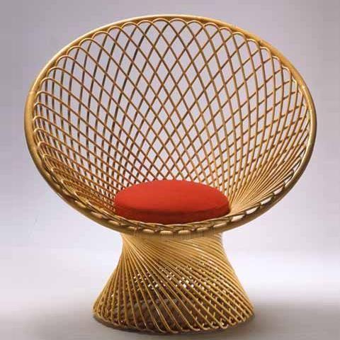 Franco Albini, Primavera Chair by Vittorio Bonacina, 1951.