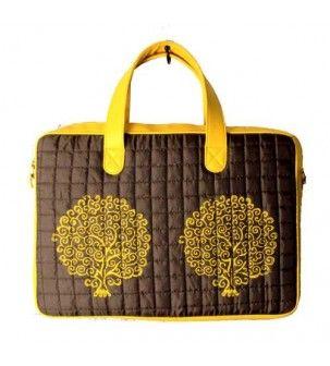 Laptop Yellow Bag