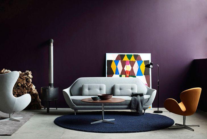 Чистые линии и тонкое чувство цвета в работах Ditte Isager