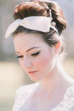 Vintage Wedding Makeup For Pale Skin
