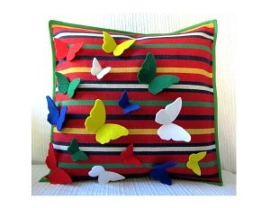 """As Irmas"" original handmade cushion cover"