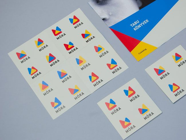 I'm always a sucker for brands with a versioned logo system, like this one for Móra.Móra Publishing, Visual Identity, Brand Identity, Design Identity, Identity Logo, Zwoelf Design, Móra Ifjúsági, Könyvkiadó Visual, Logo System