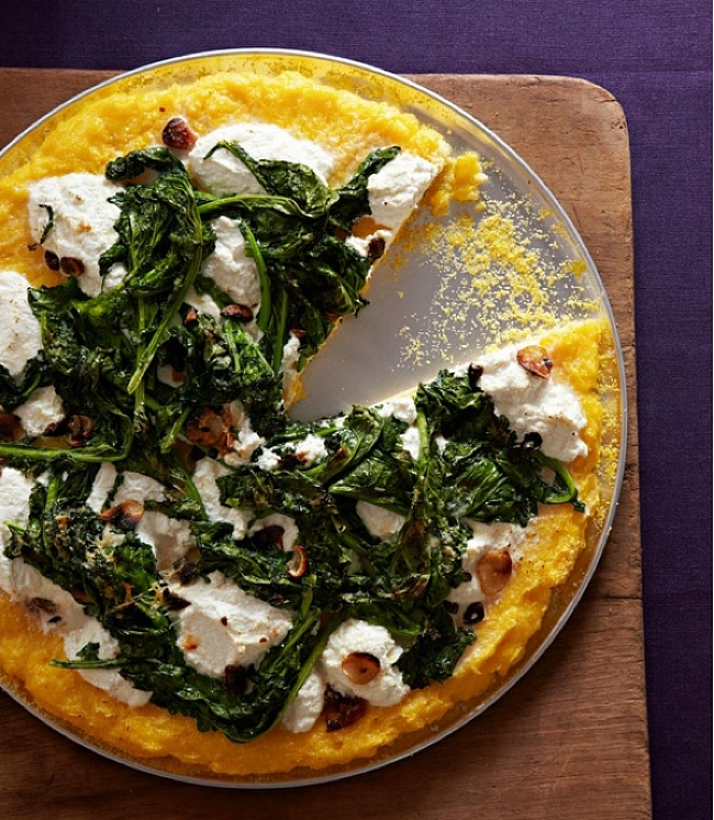 Broccoli Rabe Polenta Pizza: continuing to find ways to use Polenta in ...