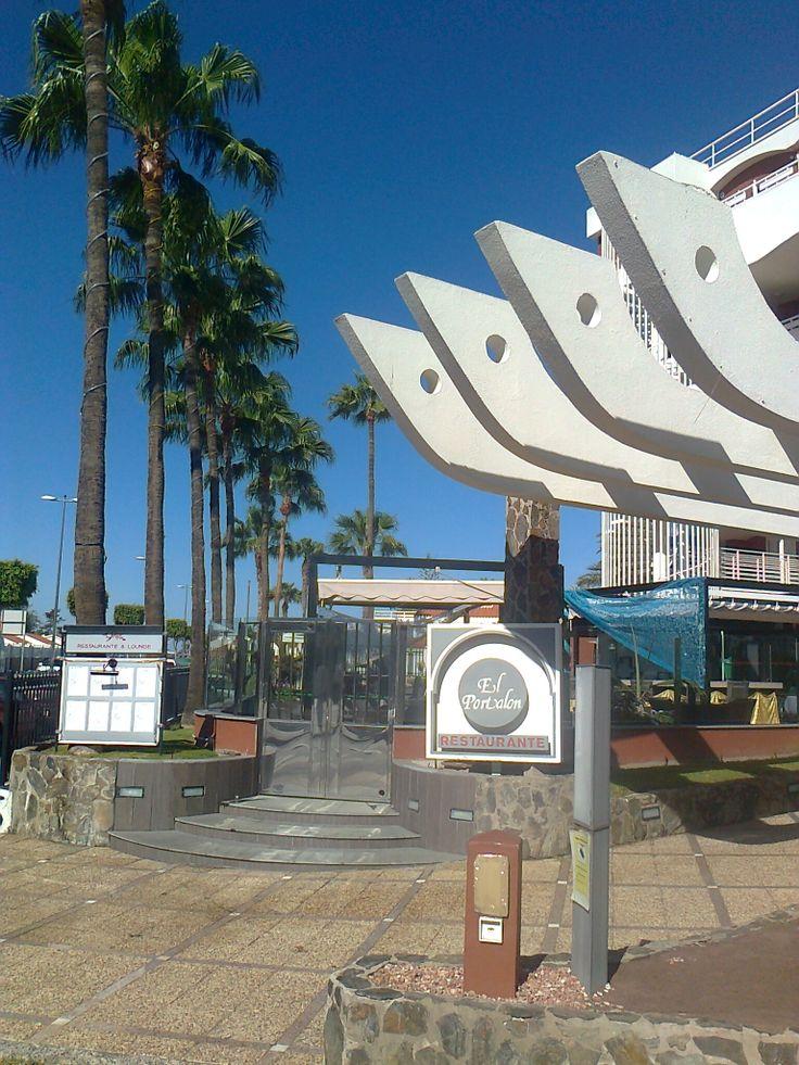 art in the city Playa del Ingles