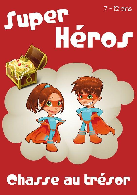 chasse au trésor super-héros