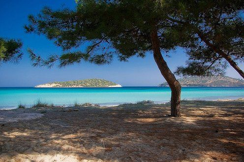 Beach #Lagonisi, in #Sithonia, #Halkidiki