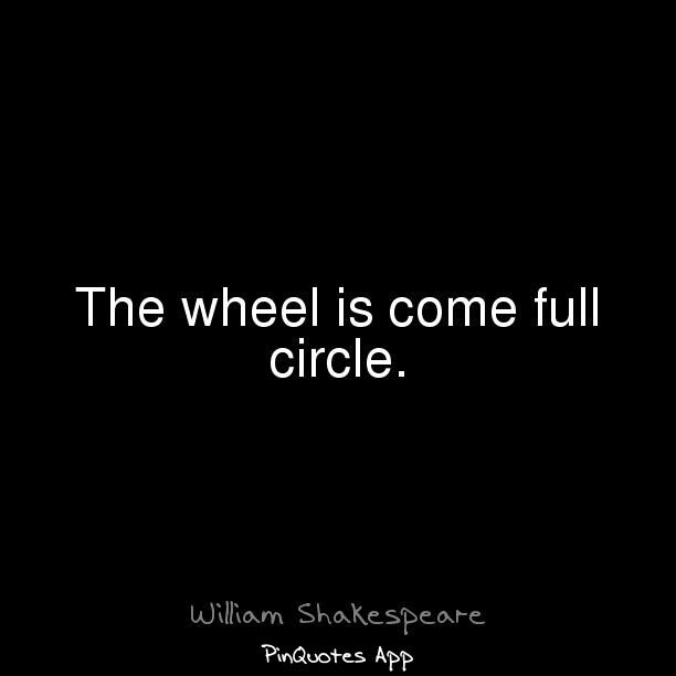 The Wheel is com...F Scott Fitzgerald Quotes For What Its Worth