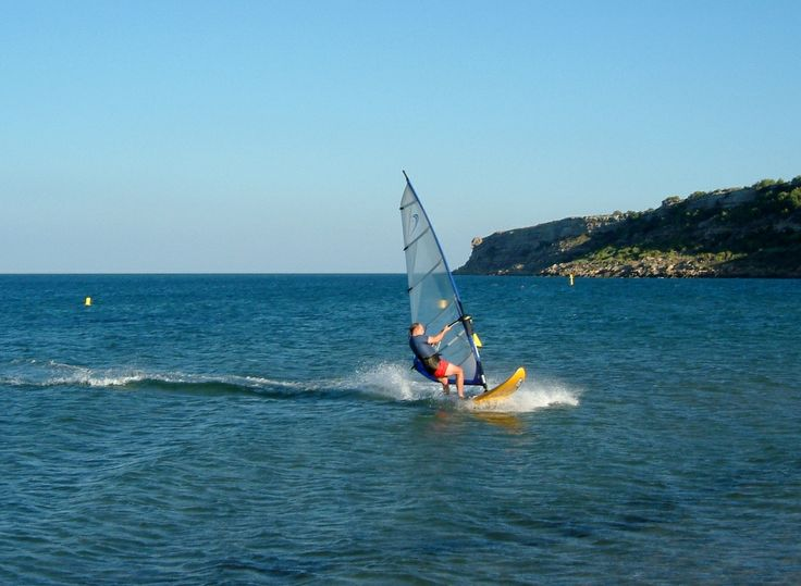 #Windsurfing Le Franqui - #Languedoc - gorgeous beaches less than 30 minutes from Villa La Cascade