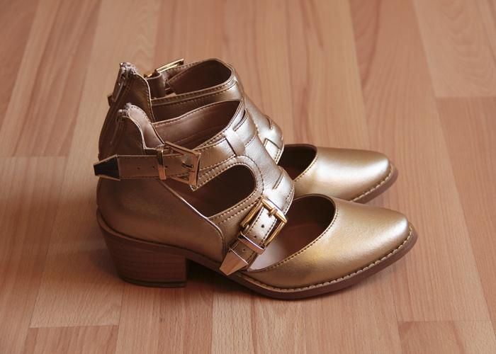 #MíTu #Calzado: Irene Oro - Kichink! #Shoes