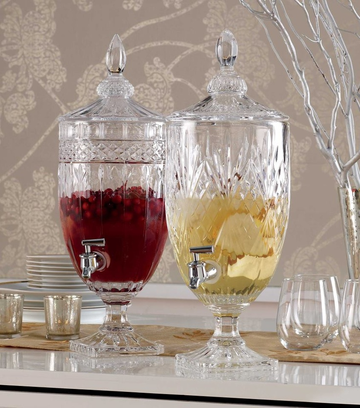 1000 Images About Drink Dispenser Recipes On Pinterest: 1000+ Images About CRYSTAL BEVERAGE DISPENSER On Pinterest
