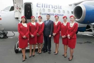Είναι η πρώτη φορά που ελληνικός όμιλος tour operator μεταφέρει τους επιβάτες του με την ιδιόκτητη εταιρεία του και το αεροσκάφος του. Ellinair, Kiev, Киев, thessaloniki, mouzenidis, Briansk, Voronezh, Stavropol, Kaliningrad, Riga, Mineralnye Vody, Odessa, Donetsk, Lviv, Moscow, Volgograd, Arkhangelsk, Astrakhan, Omsk, Kazan, Novosibirsk, Saint Petersburg, Perm, Samara, Chelyabinsk, Yekaterinburg, Nizhny Novgorod, Astana, Kharkiv, Bari