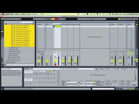 how to make a drum pattern in ableton